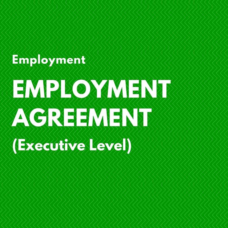 Employment Agreement Executive Level  Ca HiEr Club