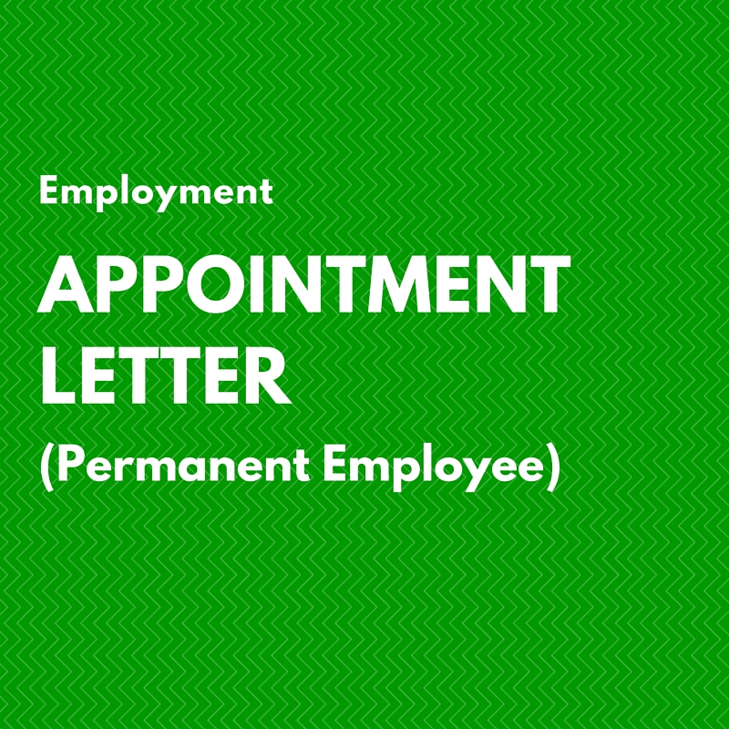 employment-appointment-letter-permanent-employee